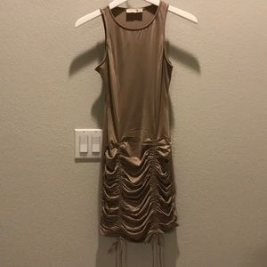 Brand new Racerback Dress with Front Gatherings